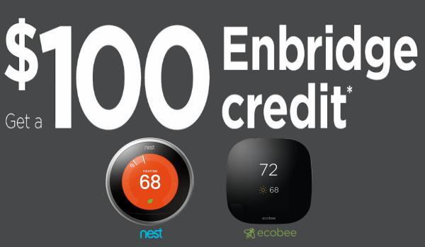 Ecobee3 Nest $100 Enbridge Rebate