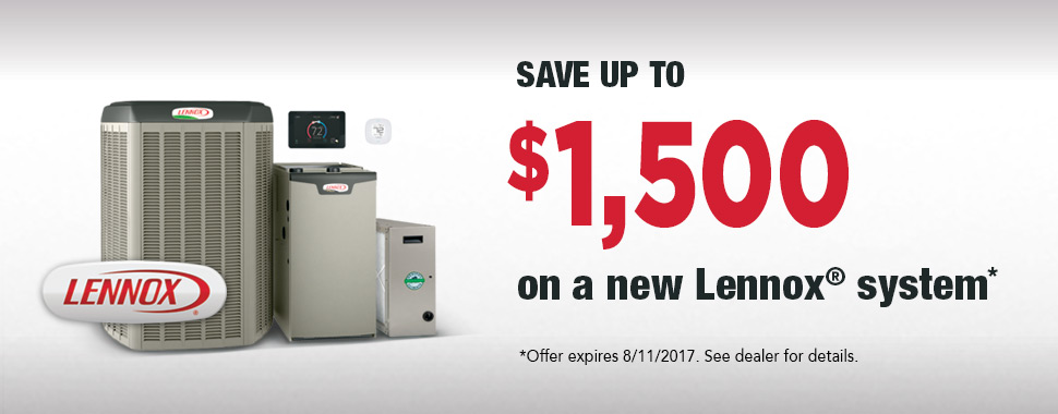 Lennox Winter 2017 National Promotion $1500