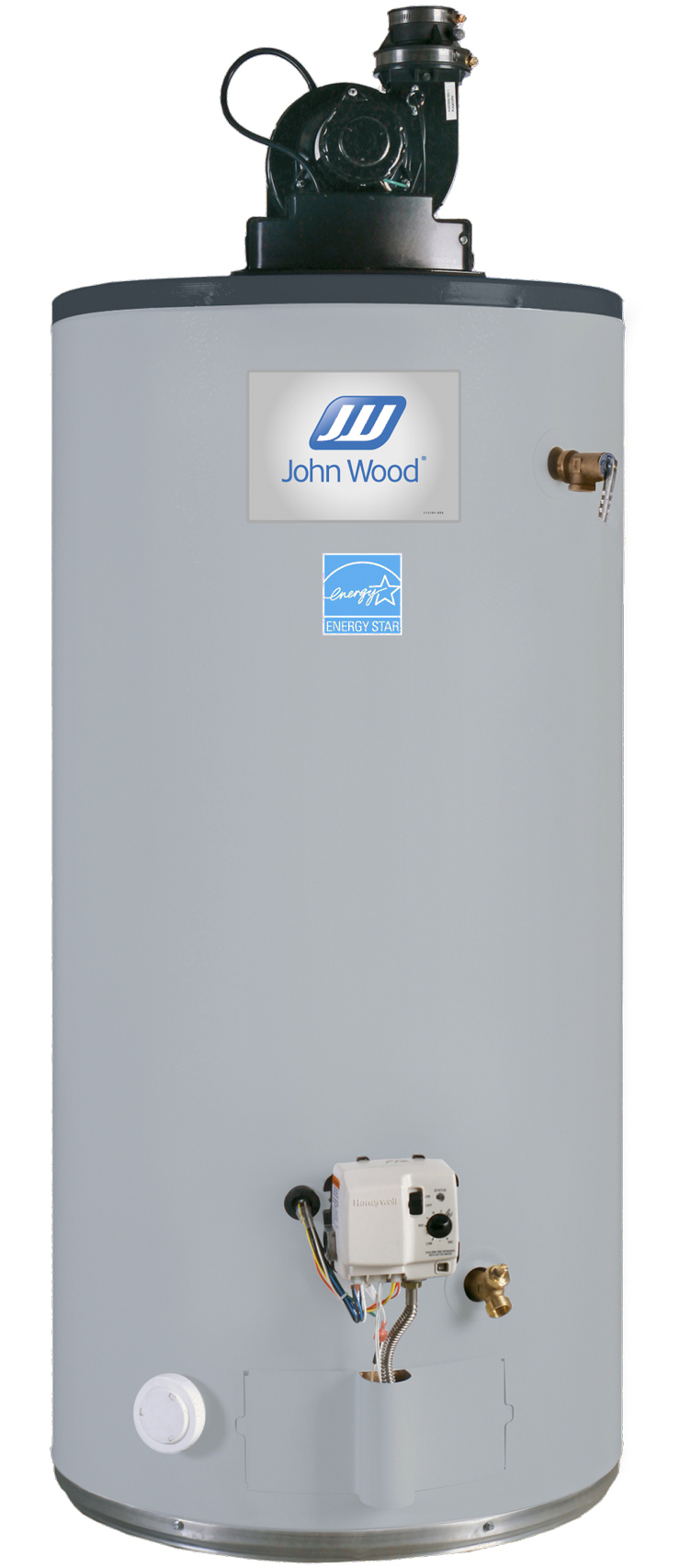 Johnwood Power Vent Water Heater